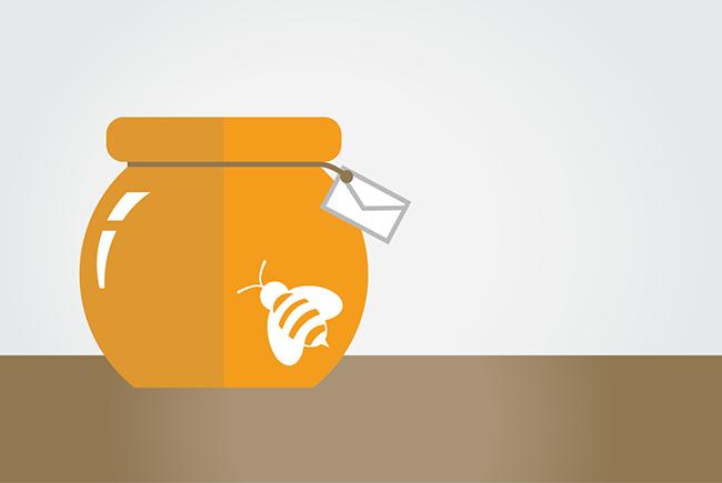 honeypots email addresses that sting webbula blog image
