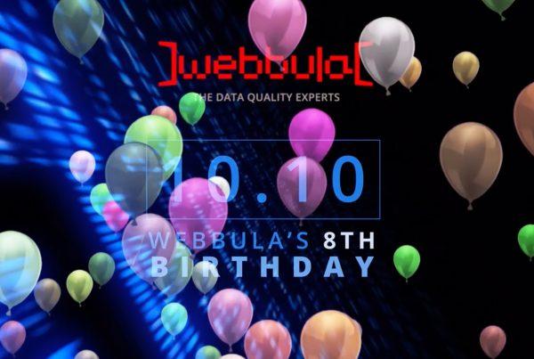 Webbula Birthday