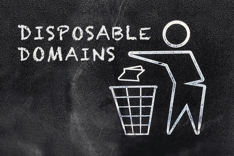 Disposable Domains