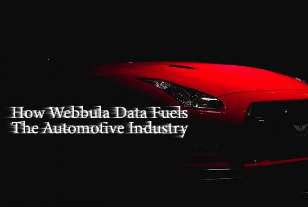 Webbula Automotive Data