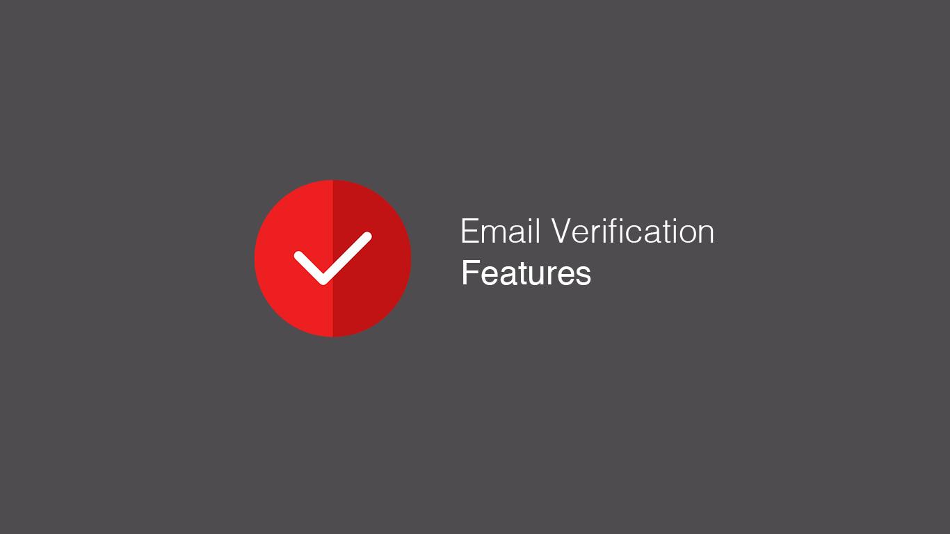 Verification Features